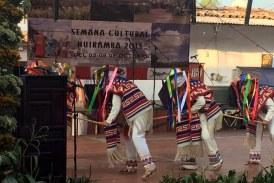 """""""Con Dinero O Sin Dinero Lo Vamos A Hacer"""": Inauguran Semana Cultural En Huiramba"""