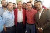 Nuevo Dirigente PRI Michoacán Se Toma La Foto Con Fausto Jr Y Reyna Jr En Toma De Potesta