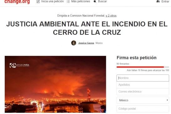 Cerro de la Cruz Se Convierte En Tendencia Nacional Tras Incendios Por 2da Semana En Uruapan