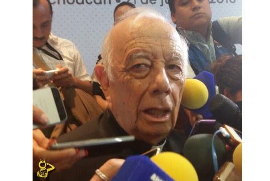 Reconoce Cardenal De Morelia Que Michoacán No Ha Recuperado La Tranquilidad