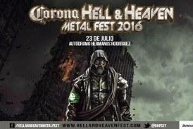 ¡Todo Listo! Para El Corona Hell And Heaven Fest 2016 Mañana Sábado \m/