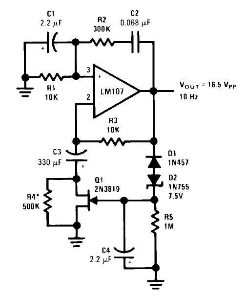 crystal oscillators schematic