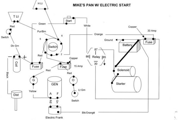 wiring diagram shovelhead relay