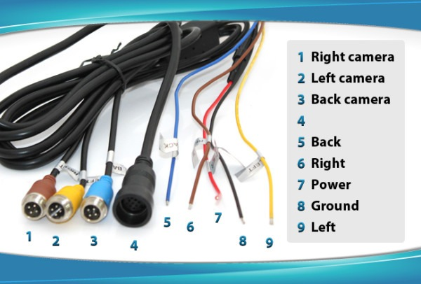 Elinz Reversing Camera Wiring Diagram