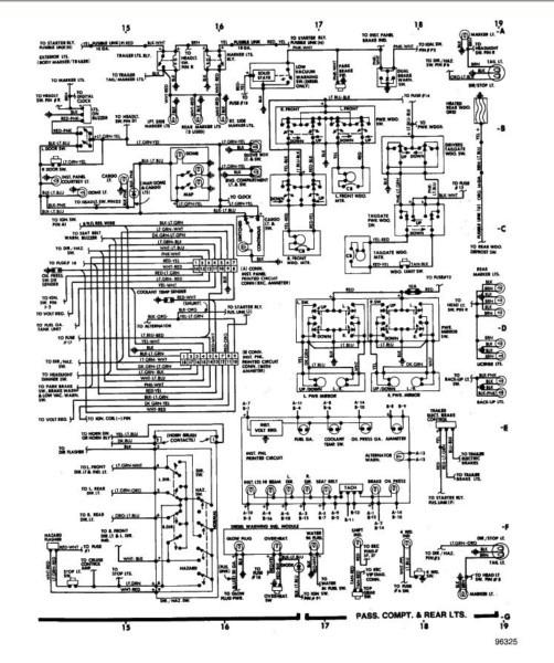 1984 Ford Wiring Schematic Wiring Diagram
