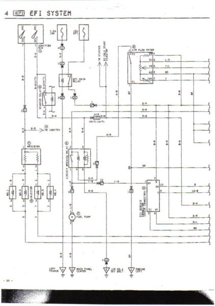 Ae86 Headlight Wiring Diagram