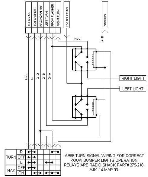 Ae86 Headlight Wiring Diagram Wiring Diagrams