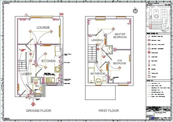 Bedroom Electrical Wiring - Schema Wiring Diagram