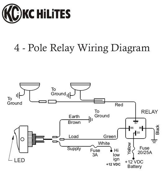 Kc Light Relay Wiring Diagram For A - Carbonvotemuditblog \u2022