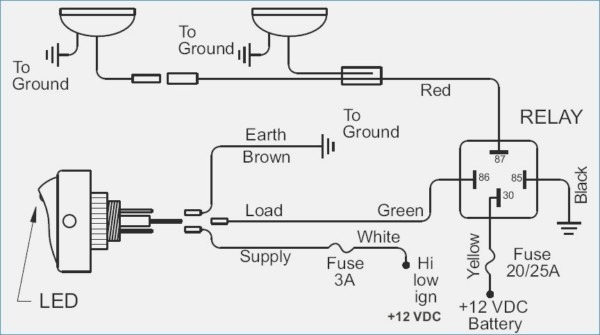kc light wiring harness diagram