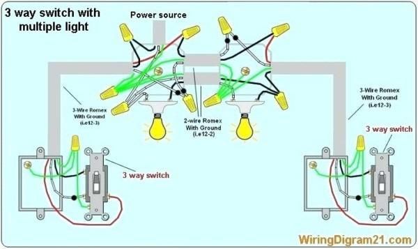 Wiring Multiple Light Switches One Power Source