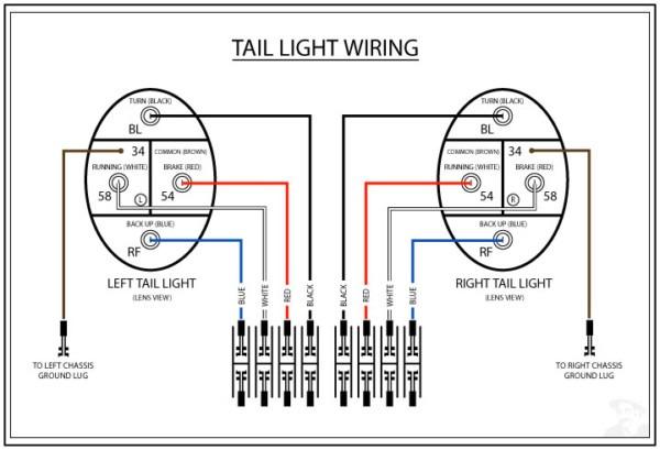 silverado tail light wiring harness diagram