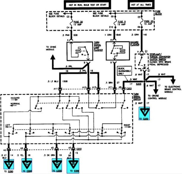 1999 buick century electrical diagrams