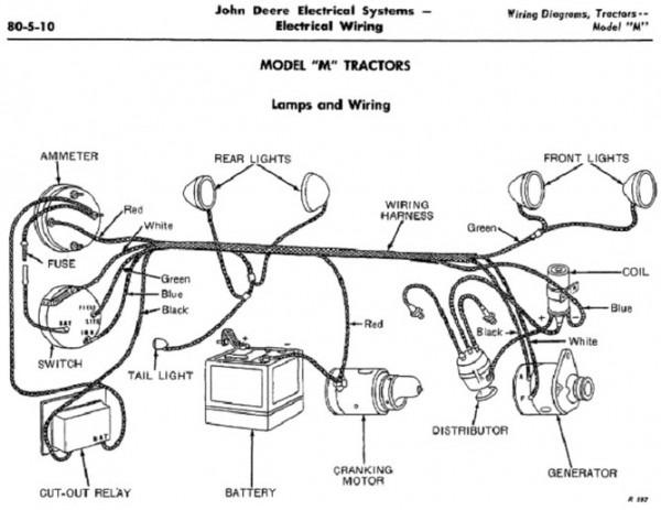 3020 john deere wiring harness