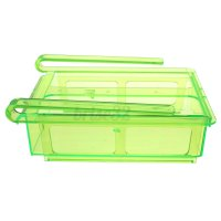 Plastic Kitchen Freezer Fridge Drawer Storage Rack Holder ...