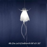 Modern Glow Ethereal Jellyfish Lampshade Ceiling Light ...