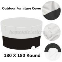 Waterproof Garden Patio Black Table Cover Outdoor ...