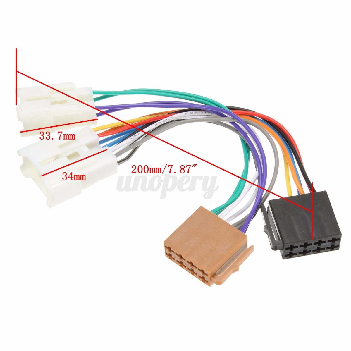Toyota Corolla Radio Wiring Harness Adapter Auto Iso Car Stereo Connector For