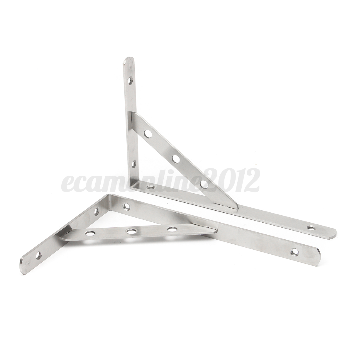 6 12quot Stainless Steel Wall Shelf Corner Brackets L Shaped