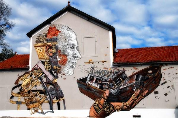 Olfactive Street Art Technique