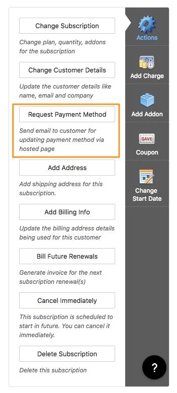 Cards Payments via Credit/Debit cards - Chargebee Docs