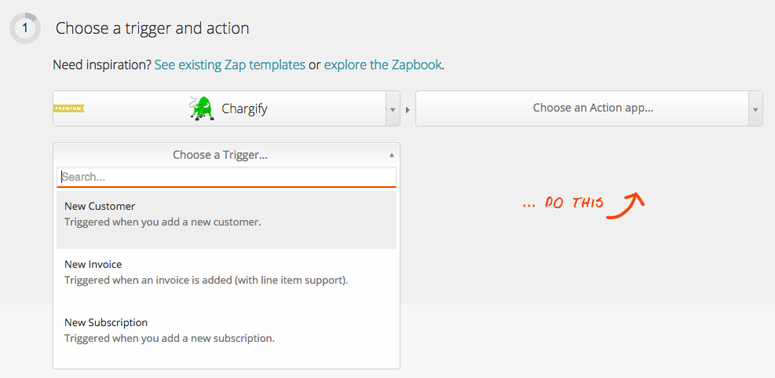 Connect Chargify to 300+ web apps with Zapier