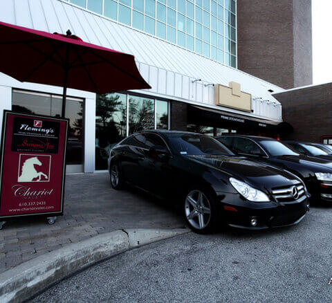Chariot Valet Philadelphia Valet Parking for Restaurants, Shopping