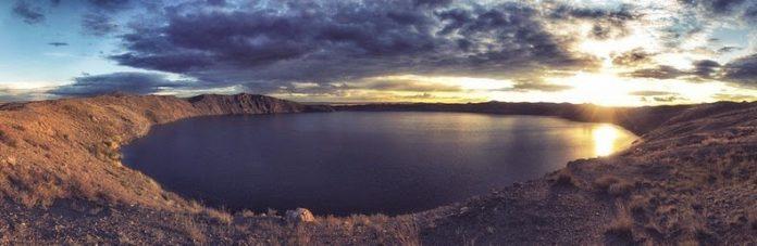 Lake Chagan (Lake Balapan or Atomic Lake) Filled with Radioactive Water