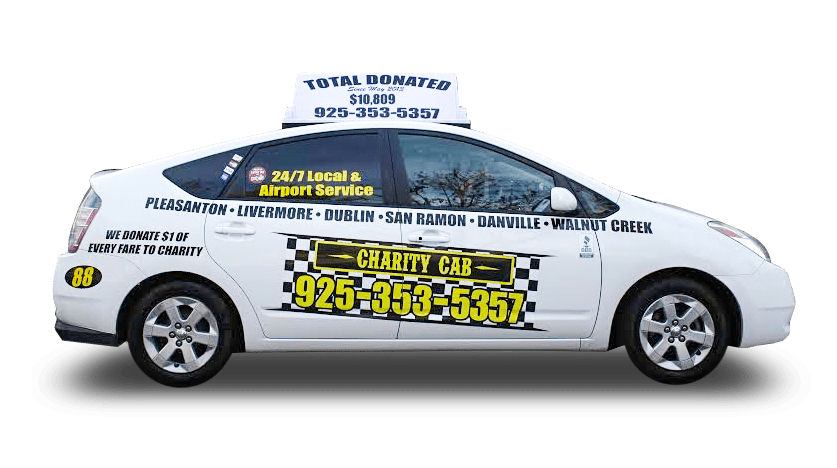 Charity Cab uses a new Prius for Pleasanton taxi services