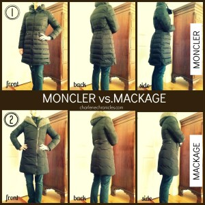 Moncler vs. Mackage