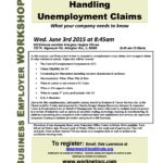 6/3 Unemployment Comp. Seminar @ Arlington Heights IDES; & on 6/9, I'm Speaking @ the Greater Auburn-Gresham Development Corp. & 6th Dist Chicago Police Dept's Small Business Forum