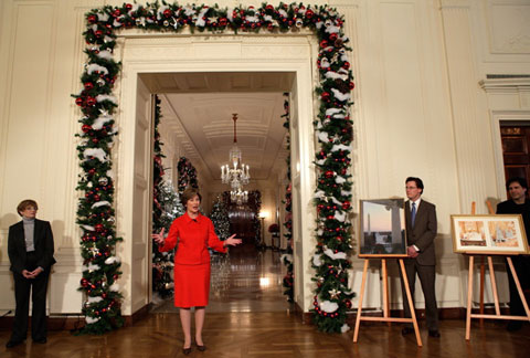 White House Christmas Decorating Ideas - christmas home decor ideas