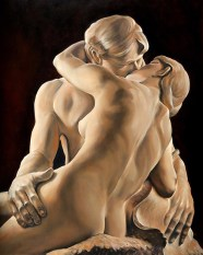 The Kiss after Rodin