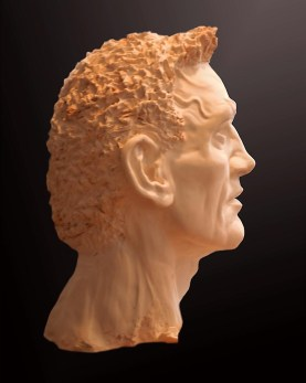 Sculpture, Gladiator, profile