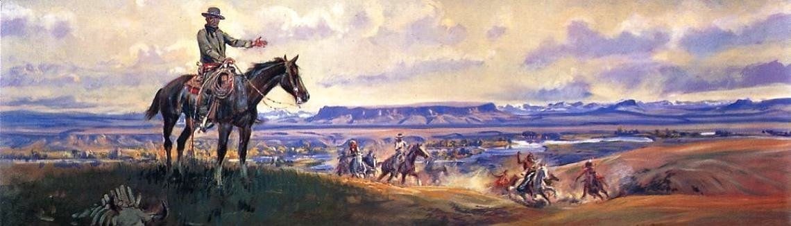 Sioux Falls Wallpaper Charles Marion Russell The Complete Works