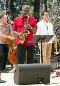 Charles McPherson playing at Idlwild Festival