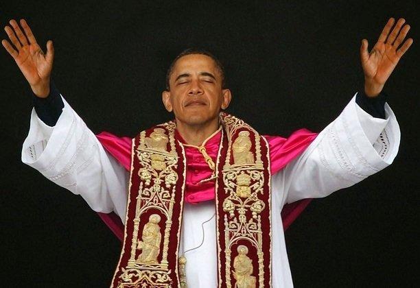 Obama Rebukes Jesus