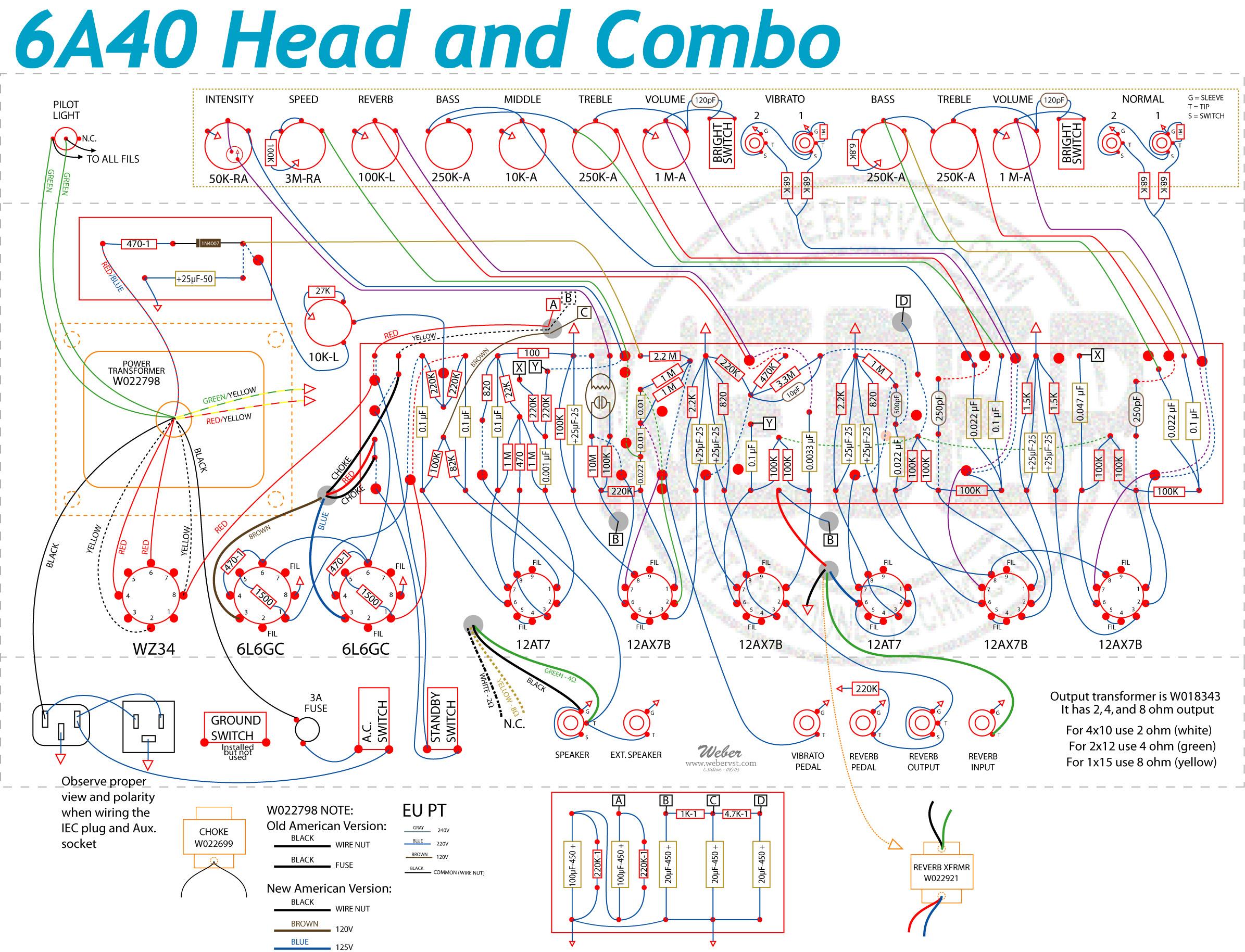 fender champ wiring diagrams