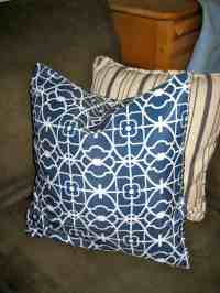 """How to Make Easy Peasy No-Sew Pillow """"Envelope"""" Style ..."""