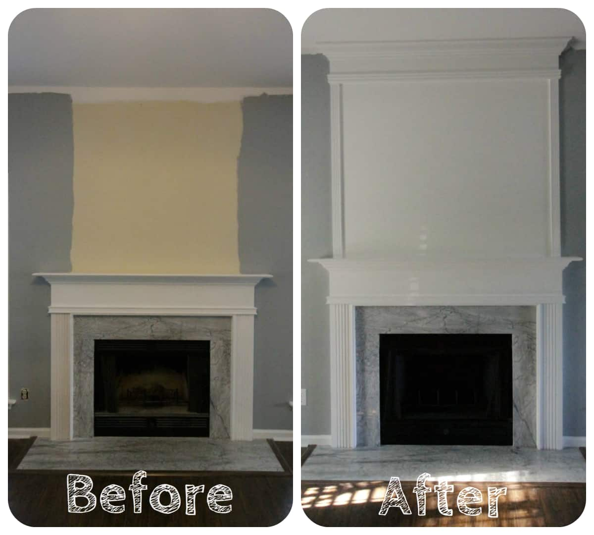 ORC Week 3: How to use moulding to extend your fireplace