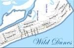 Isle Of Palms Wild Dunes SC Map