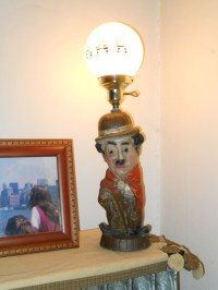 Value And Approximate Age Of Charlie Chaplin Bust BAR Lamp ...