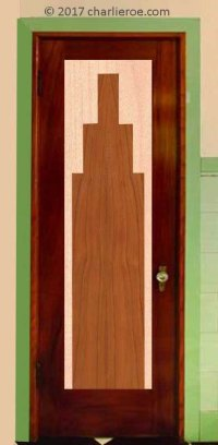 new bespoke Art Deco Moderne interior and exterior doors ...