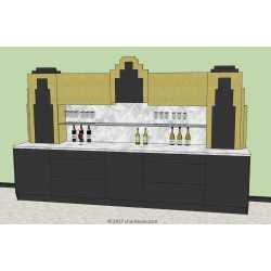 Small Crop Of Art Deco Bar