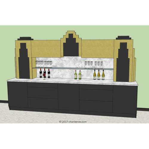 Medium Crop Of Art Deco Bar