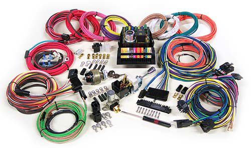 6 VOLT Universal Wire Harness Charlotte Rod and Custom