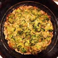 Holiday Edition: Broccoli Leek Pie (Gluten & Dairy Free!)