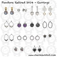 top quality pandora retired earring charms 8b5f0 7056f