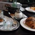 Second breakfast in a bakery