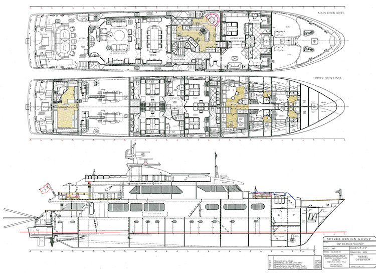 Yacht SORCHA Layout - Drawing by Zetzer Designjpg (750×550 - room rental contract